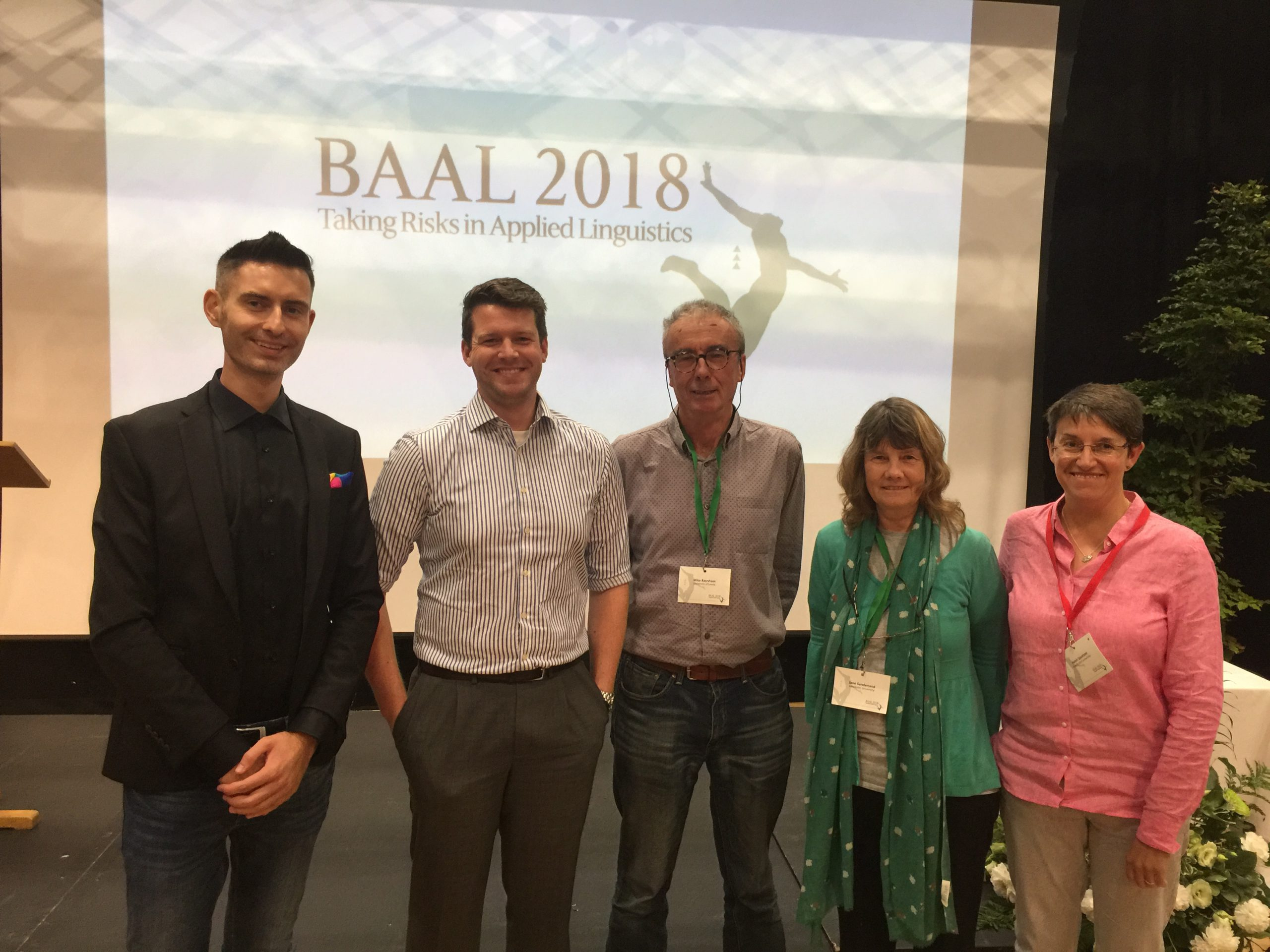 Colloquium BAAL York