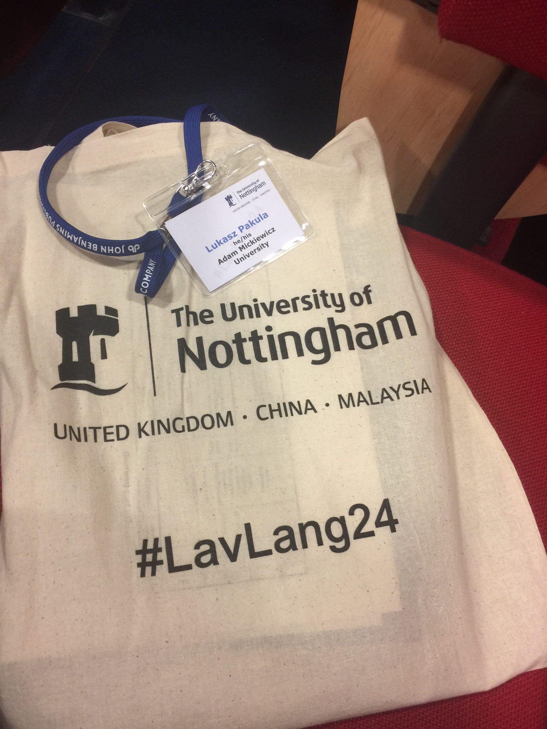 Lavender Languages & Linguistics 24