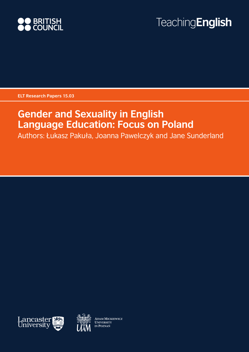 gender and sexuality in english language education: focus on Poland