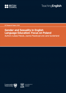 Gender and Sexuality in English Language Education